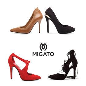 We love MIGATO: Όλες οι γόβες που θέλουμε βρίσκονται στη χειμερινή συλλογή της εταιρείας