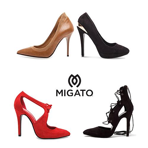 We love MIGATO  Όλες οι γόβες που θέλουμε βρίσκονται στη χειμερινή συλλογή  της εταιρείας f39d6098d14