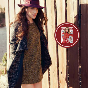 Under Cover: Η ταλαντούχα ηθοποιός Εύα Σιμάτου δοκιμάζει τα ωραιότερα πανωφόρια του χειμώνα