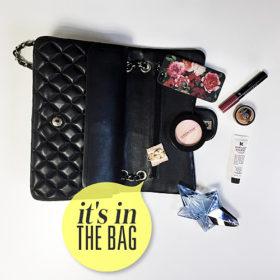 It's in the bag! Κρυφοκοιτάξαμε στην τσάντα της Σταματίνας Τσιμτσιλή