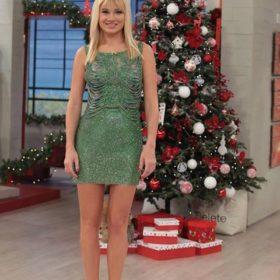 Φαίη Σκορδά: Με το πιο glamorous φόρεμα εμφανίστηκε στη χτεσινή εκπομπή
