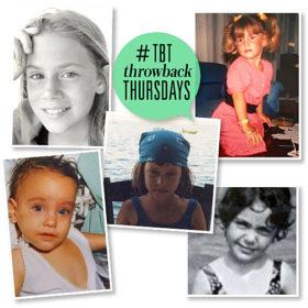 #ThrowbackThursday: Μπορείτε να μαντέψετε τις σταρ από τις παιδικές τους φωτογραφίες;