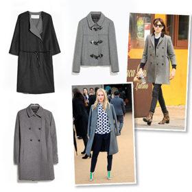 Shopping guide: Βρήκαμε τα ωραιότερα γκρι παλτό της αγοράς