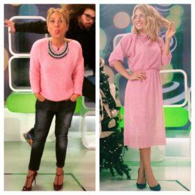 ReThink pink: Η Μαρία Ηλιάκη μας δείχνει πως να φοράμε το απόλυτο trend της σεζόν