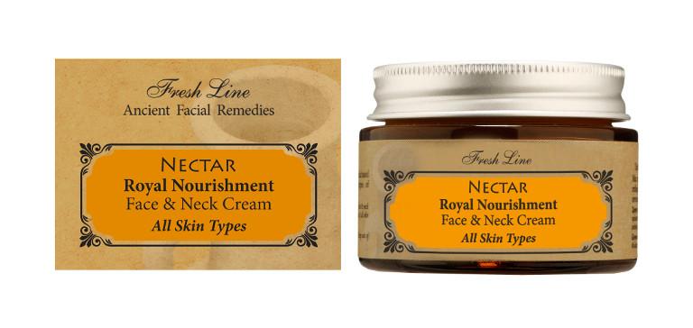NECTAR royal nourishment FACE  NECK CREAM