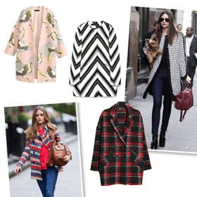 Printed coats: Αναβαθμίστε το στιλ σας με ένα ξεχωριστό πανωφόρι