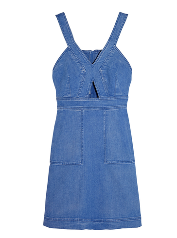 stella-mccartney-cutout-denim-mini-dress