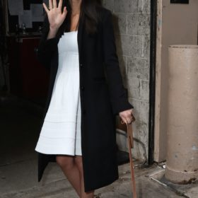 H Olivia Munn με Zac Posen