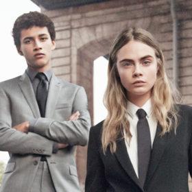H Cara Delevingne είναι ένα από τα αγόρια της DKNY
