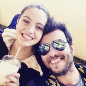 Λάμπης Λιβιεράτος: Το τρυφερό μήνυμα αγάπης για την γιορτή της κόρης του, Νεφέλης
