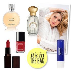 It's in the bag! Η Μαρία Ηλιάκη μας αποκάλυψε τι δεν λείπει ποτέ από την τσάντα της