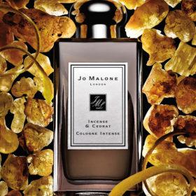 Incense & Cedrat Cologne Intense: Το νέο, σπάνιο άρωμα από τη Jo Malone