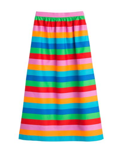 valentino-striped-cotton-silk-midi-skirt