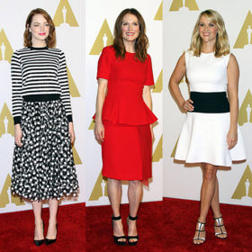 87th Academy Awards Nominee Luncheon: Τι φόρεσαν οι celebrities που έδωσαν το παρών;