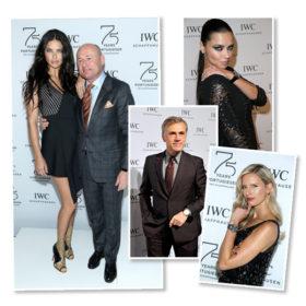 IWC Schaffhausen: Δείτε ποιοι celebrities παραβρέθηκαν στο μοναδικό event