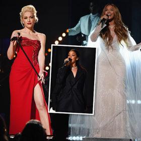 Grammys on stage: Τι φόρεσαν οι τραγουδίστριες πάνω στη σκηνή των βραβείων;