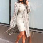 Kim Kardashian, adidas store, fidi, palto, look of the day