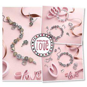 PANDORA Valentine's 2015 Collection: Γιορτάστε αξέχαστες στιγμές αγάπης