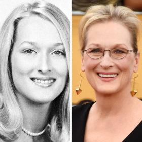 Δείτε την αλλαγή της Meryl Streep από το 1967 ως σήμερα