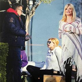 Γιώργος Λιάγκας-Φαίη Σκορδά: Όλο το παρασκήνιο της απρόσμενης συνάντησης με την Κωνσταντίνα Σπυροπούλου μετά την αγωγή της