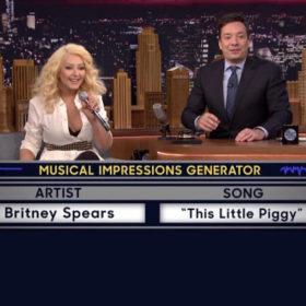Christina Aguilera: Δείτε το ξεκαρδιστικό video στο οποίο μιμείται την Brithney Spears