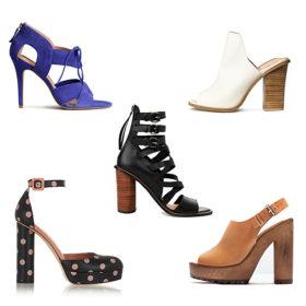Shop it! Αυτά είναι τα ωραιότερα ψηλοτάκουνα παπούτσια της άνοιξης