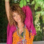eleni foureira, homepage image, goura mallia, entona hromata, fouxia, portokali, mosaic, tefhos pente