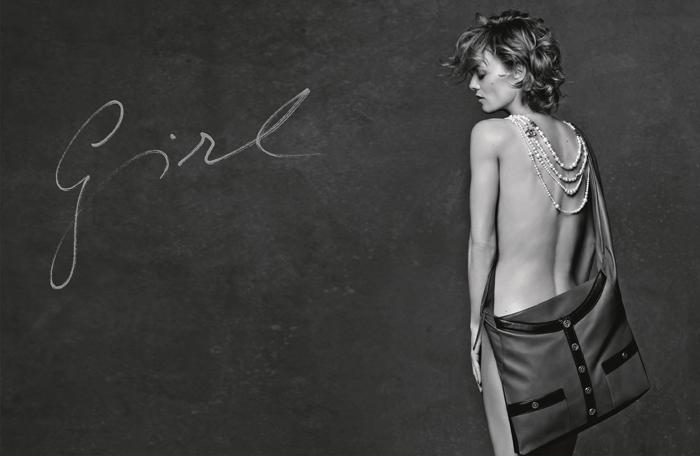 vanessa paradis, chanel campaign, girl bag