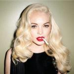 lindsey lohan platinum blonde