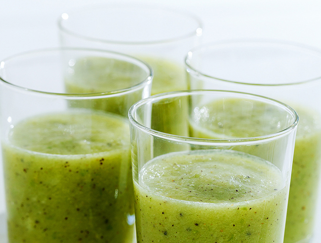 660 × 500, homepage image, green smoothie, barouh