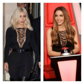 Kim Kardashian – Δέσποινα Βανδή: Ποια το φόρεσε καλύτερα;
