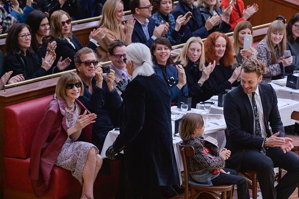 Chanel, runway, fashion show, front row, anna wintour, mario testino, grace coddington, paris fashion week