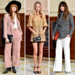 600x600, homepage image, florence welch, poppy delevingne, caroline de maigret, paris, fashion show, chanel, front row