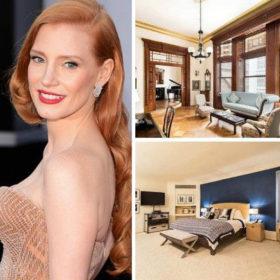 Το σπίτι της Jessica Chastain στη Νέα Υόρκη είναι ονειρεμένο