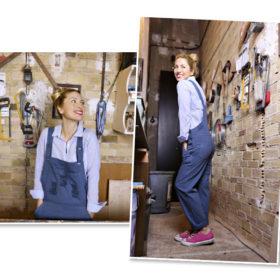 Η Μαρία Ηλιάκη μας δείχνει πώς να φορέσουμε τη σαλοπέτα