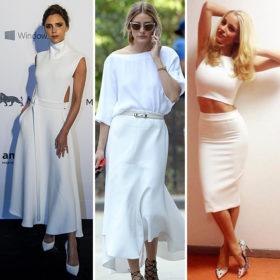 Total white: Φορέστε το λευκό όπως οι πιο stylish celebrities