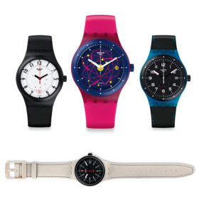 Δε θα πιστέψετε πόσο όμορφα είναι τα νέα ρολόγια της Swatch
