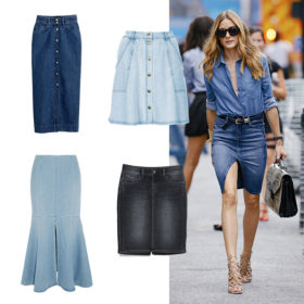 Shop it! H denim φούστα δεν πρέπει να λείπει από την ανοιξιάτικη γκαρνταρόμπα σας