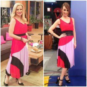Μαρία Μπεκατώρου, Μπέττυ Μαγγίρα: Ποια φόρεσε το πλισέ φόρεμα καλύτερα;