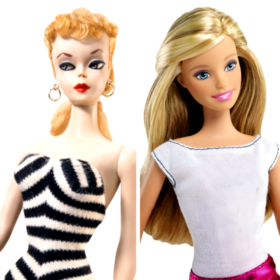 Life in plastic, is fantastic! Δείτε πώς έχει αλλάξει η Barbie από το 1959 ως σήμερα