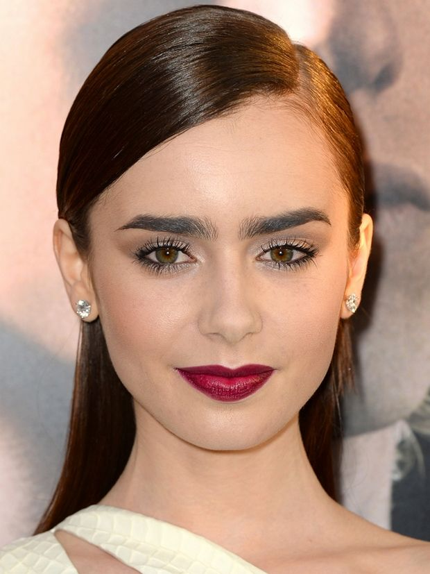 Lily+Collins, ladylike