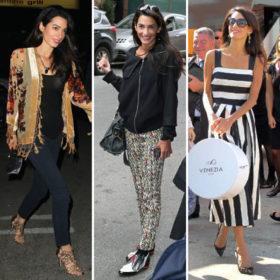 Η Amal Alamuddin (aka Mrs. Clooney) είναι το νέο style icon