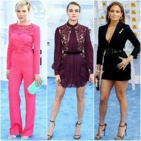 MTV Movie Awards: Δείτε τις εμφανίσεις από το κόκκινο χαλί