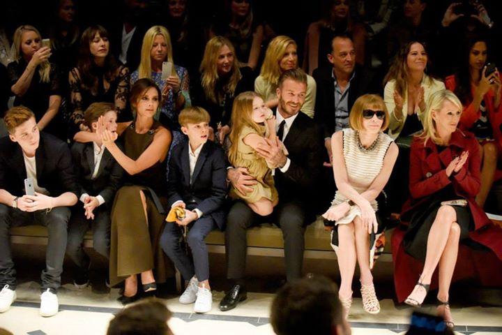 Beckham, victoria, david, harper, anna wintour