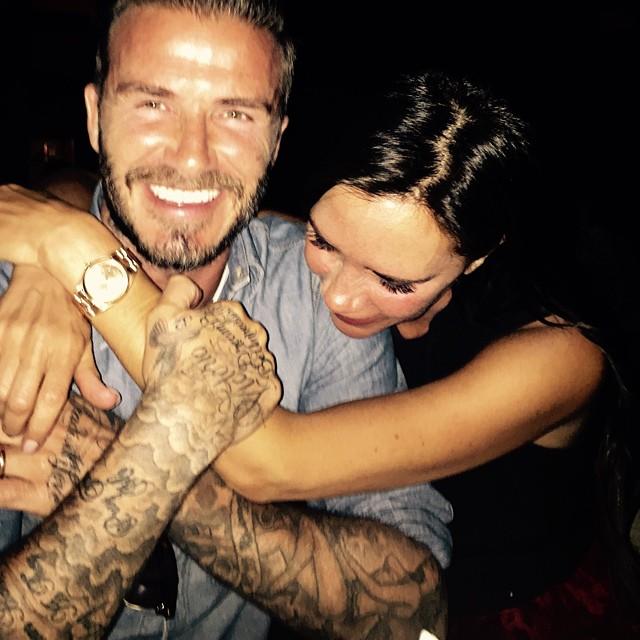 Victoria, David Beckham