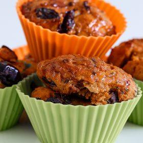 Muffins με φέτα