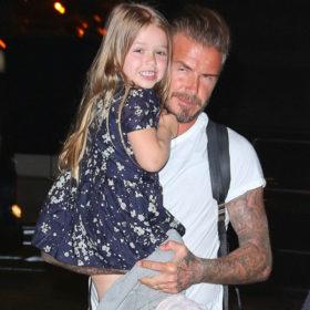 Στιλιστικές συμβουλές από ένα νήπιο; Yes, please όταν πρόκειται για την Harper Beckham