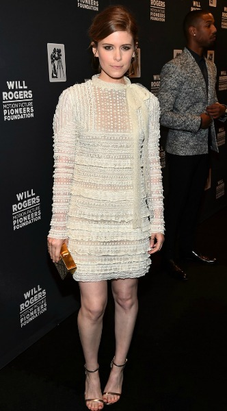 kate mara, look of the day, forema, volan, valentino,