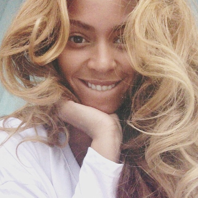 beyonce instagram no makeup