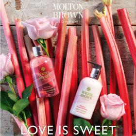 Love is sweet… Το ίδιο και η νέα σειρά περιποίησης της Molton Brown